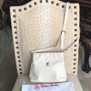 Paloma Picasso Cream Bag